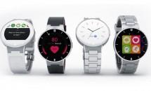 円形スマートウォッチ『Alcatel Onetouch Watch』発表、ハンズオン動画 #CES2015
