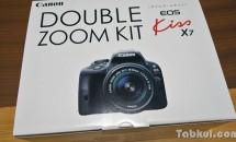 デジタル一眼レフ『Canon EOS Kiss X7』購入、開封レビュー