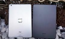 7.9型Android『Nokai N1』の開封、iPad mini 2との比較画像