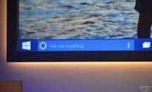 (速報)「Hey Cortana」、Windows 10 タスクバーに音声アシスタント登場