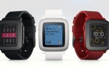 カラー表示+7日駆動スマートウォッチ『Pebble Time』発表、マイク搭載で返信も
