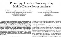 GPSなくてもバッテリーから位置を特定できる「PowerSpy」登場、精度90%
