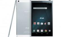 NTTドコモ、LTE対応8型Android『dtab d-01G』の2/26発売を発表/スペックと月々サポート