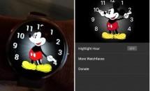 Apple Watchのウォッチフェイス『ミッキーマウス』、非公式Android Wearアプリが更新