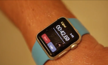 Apple Watch Sport の防水テスト動画、シャワーや水没など