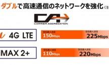 KDDI、最大225Mbpsの「4G LTE」(LTE-Advanced)と対応スマホを2015年夏リリース