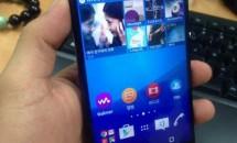 ソニー、未発表『Xperia Z4』とされるハンズオン画像リーク
