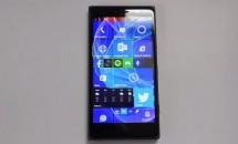 Windows 10 mobile(build 10080)のハンズオン動画