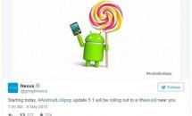 Google、Nexus 9向けAndroid 5.1 アップデートの配信開始を発表