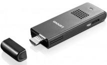 レノボジャパン、スティック型PC『ideacentre Stick 300』発表―発売日や価格/初回4000台限定でキーボード同梱