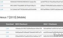 Google、Nexus 7 (2013) Wi-Fiモデル向けにAndroid 5.1.1_r6(LMY48G)ファクトリーイメージ公開