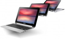 ASUS、360度ヒンジの10型『ChromeBook Flip C100』を米国で発売―価格・スペック