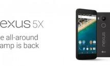 Nexus 5Xの価格379.99ドル~、16GBと32GBモデルで9/30予約開始