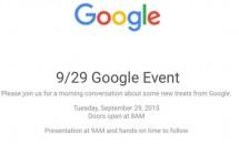 Googleが9月29日にイベント開催―Nexus 5/6やChromecast発表へ