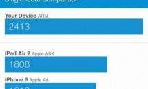 iPhone 6s/6s PlusのA9チップは最大1.85GHz/RAM2GB、ベンチマーク結果