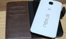 Nexus 6 向け本革の手帳ケースを購入、開封~感想レビュー