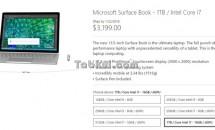 約38万円、Surface Book(1TBモデル)の価格判明―出荷は来年1月下旬