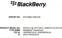 5.4型『BlackBerry PRIV(STV100-1)』がFCC通過