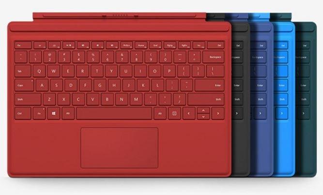 us配列の surface pro 4 3対応 type cover 英語キーボード 発売