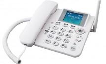 テザリング対応、SIMフリー固定電話機『ホムテル 3G(AK-010)』発表―格安SIM/MVNO利用可能