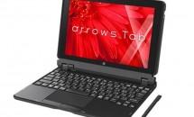 富士通、防水&Wacomペンな10.1型『arrows Tab WQ2/X』発表―スペック・価格