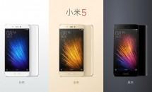 Xiaomi Mi 5 発表、RAM4GB/ストレージ128GB搭載スマートフォンのスペック・対応周波数・発売日・価格