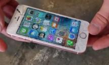 "『iPhone SE』の耐久性を試す""落下テスト""動画も公開される"