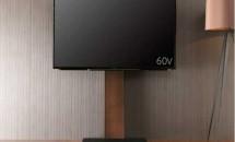 55型テレビ『LC-55W30』と壁よせテレビスタンド・ウォール購入、設置レビュー・感想
