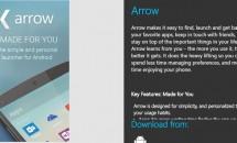Microsoftのランチャーアプリ『Arrow Launcher』がWunderlist同期に対応などアップデート