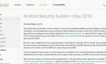 Google、2016年5月度Androidセキュリティパッチ公開 – Nexusファクトリーイメージ/OTAも