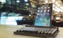 レトロなキーボード『QWERKYWRITER QW-TYPEKB01-BK』予約開始、ジャストシステムより価格・発売日