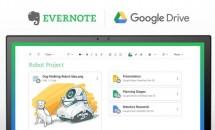 Evernoteが「Googleドライブ」と連携を発表、検索や同期が可能に