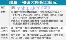 iPhone 7シリーズ、Plus と Pro(Premium)の3モデル展開か