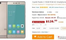 XiaoMi Redmi 3(1.3万円)/Redmi 3 Pro(1.6万円)がGEARBESTで販売開始、価格