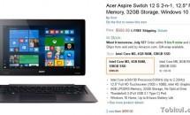 Acer Aspire Switch 12 S、ようやく発売される – 2月予定→7月に