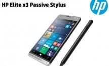 Win10スマホ『HP Elite x3』向けスタイラスペン『Passive Stylus』のPDFファイル公開