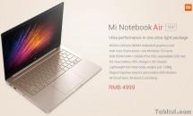 Xiaomi Mi Notebook Air 13.3発表、デュアルSSDなどスペック・価格 #MacBook 対抗モデル