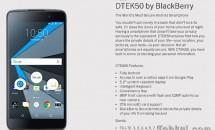DTEK50 by BlackBerry 発売、価格299ドル