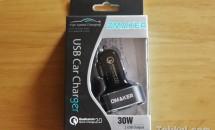OMAKER USBカーチャージャー『OMA1210』開封レビュー+20%割引クーポン(8/15まで)