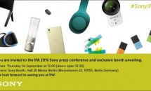 SonyがIFA向けティザー画像を公開、Xperia XRなど発表か #IFA2016