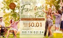 GEARBESTで最大70%OFFとなる「Fantastic 4 Fall」セール開催中