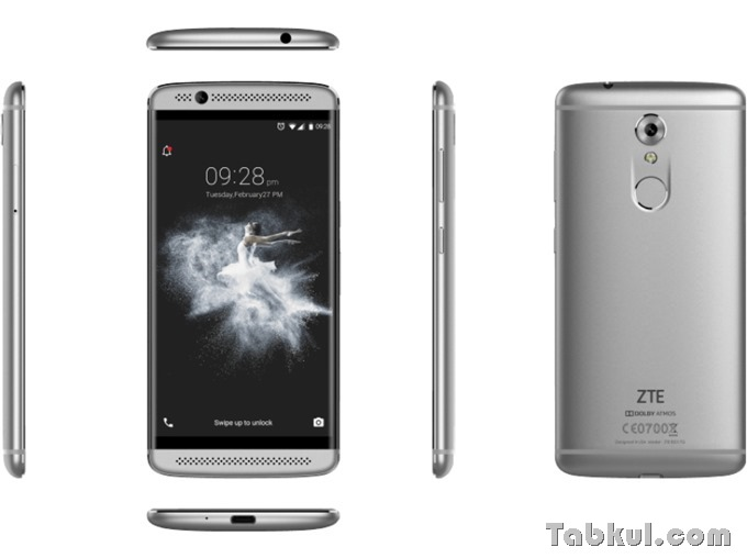 ZTE-Axon-7-Mini-32-GB-Grau-Dual-SIM