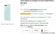 欧州で Xperia XZ / X Compact の予約開始、価格が明らかに