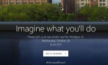 Microsoft が10月26日にイベント開催を発表、iMac対抗SurfaceやWindows 10新機能など披露か