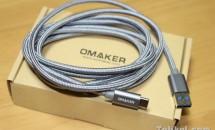 『Omaker USB type-c 充電ケーブル 2m』製品レビュー、58%OFFクーポン付き+スマホ付属ケーブルと比較・重量