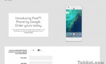 Google Pixel / Pixel XLの注文画面がフライング公開、製品画像も