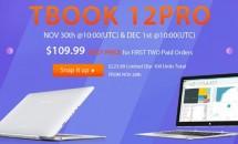 100台限定、GEARBESTでTeclast TBook 12 Proが約2.3万円にてセール中