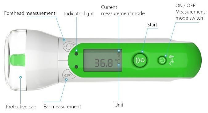 Koogeek-Infrared-Ear-Thermometer-T1-02