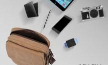 iPadが入る格安ショルダーバッグ『PLEMO MB-001』開封レビュー・感想、割引クーポンコード付き