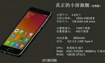 4.6型ハイスペック『Xiaomi Mi S』の画像・スペックがリーク、Snapdragon 821+RAM4GBなど「Mi 5S」と比較